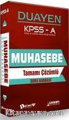 KPSS A Muhasebe Duayen Tamamı Çözümlü Soru Bankası