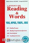 Reading & Words YDS KPDS TOEFL UDS