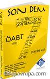 Son Dem ÖABT Türkçe 7'li Çözümlü Deneme Kitabı