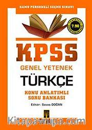 KPSS Genel Yetenek Türkçe Konu Anlatımlı Soru Bankası