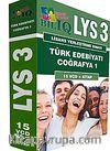 BİL IQ LYS 3 Türkçe-Çoğrafya 24 VCD + Kitap