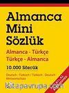 Almanca Mini Sözlük (Almanca-Türkçe Türkçe-Almanca 10.000 Sözcük)