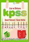2010 KPSS Lise ve Önlisans Genel Yetenek Genel Kültür Yaprak Test