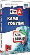 2013 KPSS A Kamu Yönetimi Soru Bankası