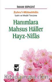 Hanımlara Mahsus Haller - Hayz Nifas