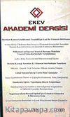 EKEV Akademi Dergisi-Sayı:12/Yaz 2002 (1-G-39)
