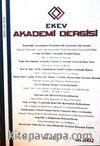 EKEV Akademi Dergisi-Sayı:13/Güz 2002 (1-G-40)
