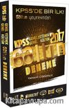 2017 KPSS Genel Yetenek Genel Kültür 6 Altın Çözümlü Deneme