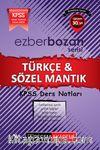 2017 KPSS Ezberbozan Türkçe-Sözel Mantık Ders Notları