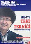 YGS-LYS Test Tekniği ve Yorumlama Tekniği