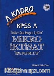 KPSS A Mikro İktisat Konu Anlatımlı Kitap