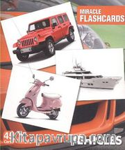 Vehicles Miracle Flashcards (45 Cards)