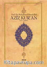 Aziz Kur'an (Büyük Boy, Ciltli)