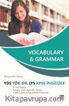 Vocabulary - Grammar Yds Yök-Dil LYS KPSS İngilizce