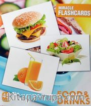 Food-Drink Miracle Flashcards (45 Cards)