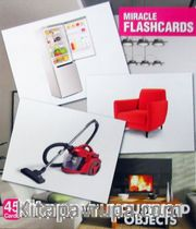 Miracle Flashcards Charts Household Objects (45 Cards)