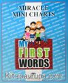 Miracle Mini Charts My First Words