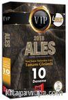 2018 ALES VIP Yeni Sınav Sistemine Göre Tamamı Çözümlü 10 Deneme
