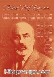 2018 Takvimli Poster - Yazarlar - Mehmet Akif Ersoy