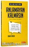 YKS DGS ALES KPSS Anlamayan Kalmasın Anlam ve Paragraf Soru Kitabı