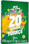 2018 KPSS Evveliyat Türkçe Tamamı Çözümlü 20 Deneme