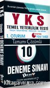 YKS 1. Oturum Tamamı Çözümlü 10 Deneme Sınavı