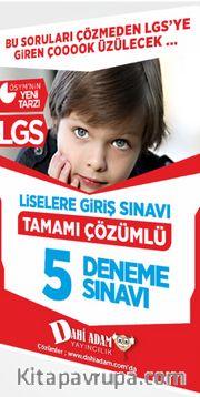 LGS Tamamı Çözümlü 5 Deneme Sınavı