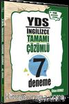 YDS İngilizce Tamamı Çözümlü 7 Deneme