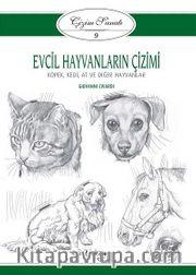 Evcil Hayvanların Çizimi / Çizim Sanatı 9 <br /> Köpek, Kedi, At ve Diğer Hayvanlar