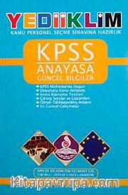 KPSS Anayasa Güncel Bilgiler