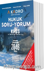 KPSS Hukuk Soru - Yorum