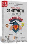 2019 LGS Farklı İsem 8. Sınıf Matematik 20 Deneme