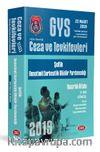 2019 GYS Ceza ve Tevkifevleri Şeflik ve Denetimli Serbestlik Müdür Yardımcılığı Hazırlık Kitabı