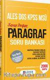 ALES DGS KPSS MSÜ Paragraf Soru Bankası