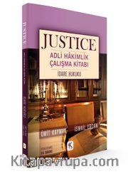 Justıce Adli Hakimlik Çalışma Kitabı İdare Hukuku
