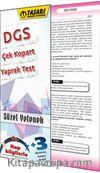 DGS Sözel Yetenek Çek Kopart Yaprak Test