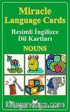 Miracle Language Cards - Nouns / Resimli İngilizce Dil Kartları
