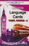 Miracle Language Cards - TOEFL Words 2