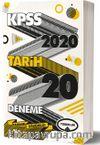 2020 KPSS Genel Kültür Tarih Tamamı Çözümlü 20 Deneme