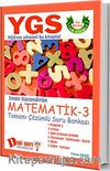 YGS Matematik 3 Tamamı Çözümlü Soru Bankası