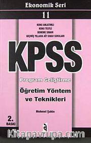 KPSS Ekonomik Seri 11 Program Geliştirme Öğretim Yöntem ve Teknikleri