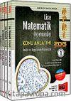 2015 ÖABT Lise Matematik Öğretmenliği Konu Anlatımlı Modüler Set (4 Kitap)